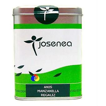 Josenea Anis Chamomile Licorice Lata 15 Envelopes (Diet , Herbalist's , Infusions)