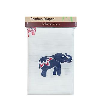 Blueberryshop Bamboo Large Reusable Washable Diaper Nappy Insert Cloth