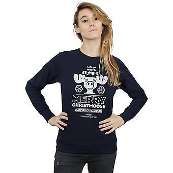 National Lampoon's Christmas Vacation Women's Merry Christmoose Sweatshirt