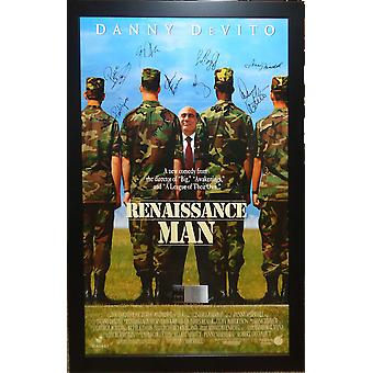 Renaissance Man - Signed Movie Poster