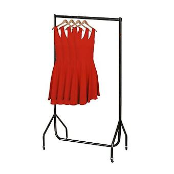3ft Black Clothes Rail with stronger than the normal rail frame.W 92 H 155 D 50cms