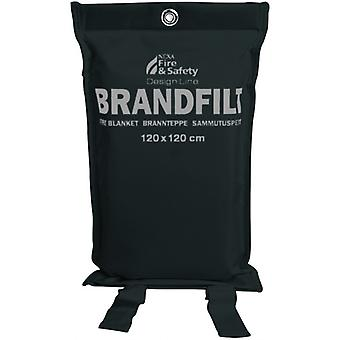 Nexa fire blanket, black, 120x120cm