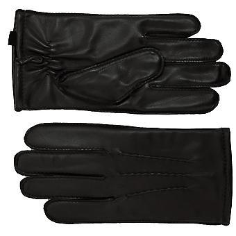 Ashwood Ashwood sort læder Herre handsker