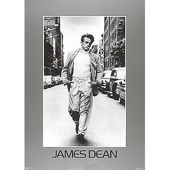 James Dean Walking Poster Print (20 x 28)