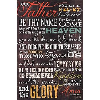 The Lords Prayer Poster Print by Marla Rae (24 x 36)