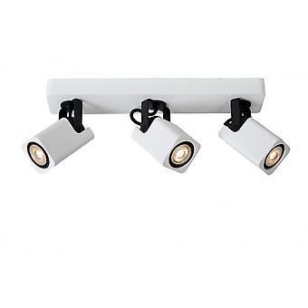 Lucide ROAX LED Spot 3xGU10/5W 320LM regulable Incl