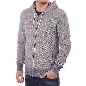 Scotch & Soda Scotch & Soda Zip Through Hooded Top Grey