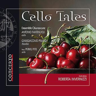 Alborea / Boccherini / Somis / Vitali / Fantinuoli - Cello Tales [CD] USA import
