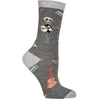 Shag Novelty Crew Socks-Instruments SGWFH-7H007