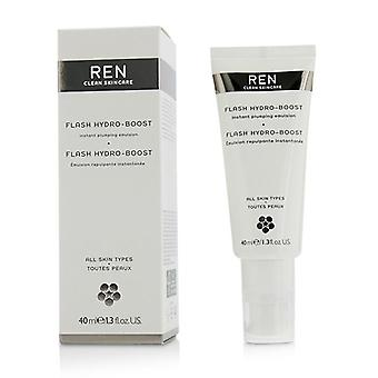 Ren Flash Hydro-Boost Instant Plumping Emulsion - för alla hudtyper - 40ml/1.3 oz