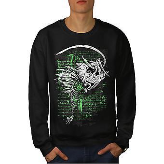 Hengelsport Cool dode mannen-BlackSweatshirt | Wellcoda