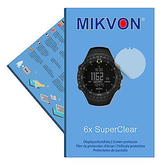 Suunto Core All Black screen protector- Mikvon films SuperClear