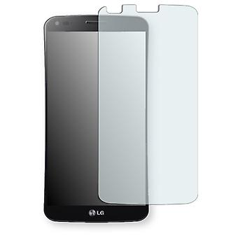 LG D955 G Flex display protector - Golebo Semimatt protector (deliberately smaller than the display, as this is arched)