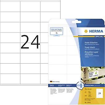 Herma 10905 Labels (A4) 70 x 36 mm Paper White