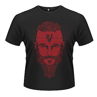 Vikings Ragnar Face T-Shirt