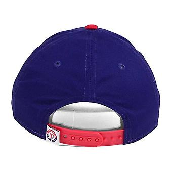 Texas Rangers MLB New Era 9Twenty Splatter Snapback Hat