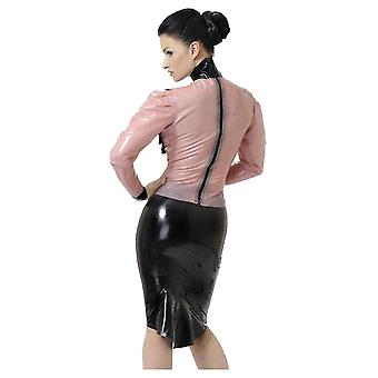 Westward Bound Governess Latex Rubber Blouse