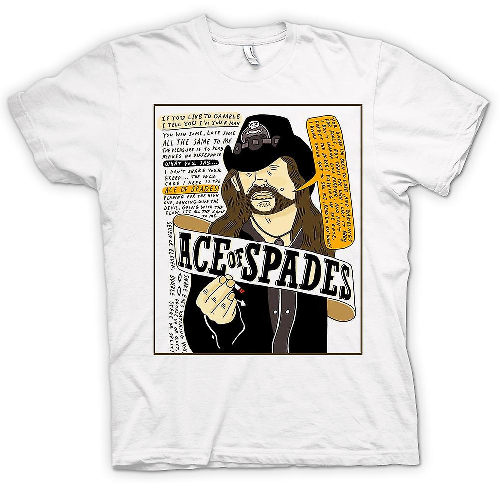 Hommes T-shirt - Motorhead - Ace Of Spades - Cartoon