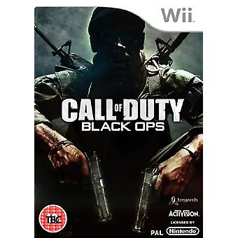 Call of Duty Black Ops (Wii)