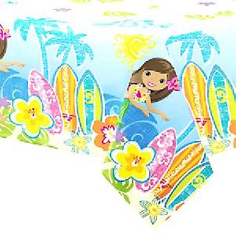 Hula Beach Party Tablecover - 54 x 84 tum
