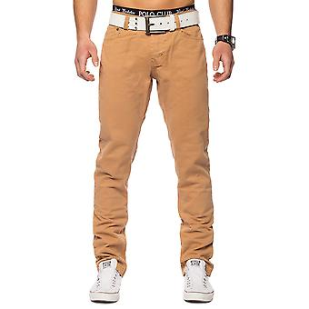 Men's Chino Jeans Denim pants low crotch clubwear (various colors)
