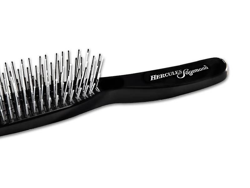 Hercules Sagemann Detangling Hair Brush Black Large