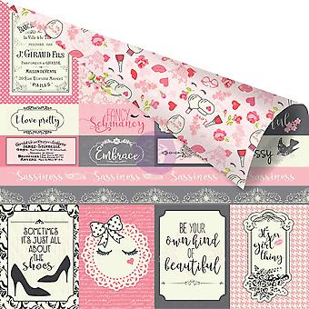 Julie Nutting Double-Sided Cardstock 12