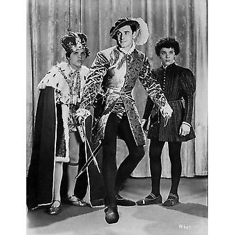 Errol Flynn posou na impressão de fotos de roupa de pirata
