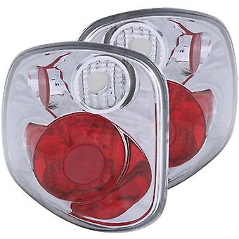 Anzo USA 211068 Ford F-150 Chrome Version 2 Tail Light Assembly - (Sold in Pairs)