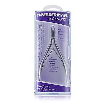 Tweezerman Professional Rockhard Stainless Cuticle Nipper - 1/4 Jaw - -