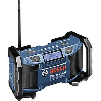 FM Workplace radio Bosch Professional GML 14,4/18 V Blue, Black