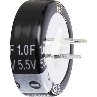 473120 condensador Goldcap 1 F 5.5 V 30% (Ø x H) 21,5 x 10 mm 1 PC