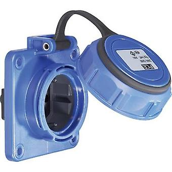 PCE 20351-8b Add-on socket IP68 Blue