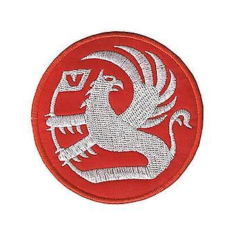 شعار فوكسهول الحديد في الحمراء/خياطة على التصحيح