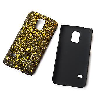 Coquille pare-chocs affaire pour yellow star 3D Samsung Galaxy Mini S5 du housse téléphone portable