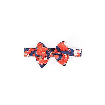 Vivienne Westwood Scarves Ties Bow Tie Squiggle Design In Red And Blue