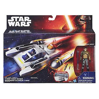 Star Wars Class I Deluxe Vehicle - Y-Wing Scout Bomber