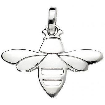 Beginnings Bee Pendant - Silver