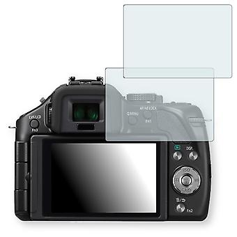 Panasonic Lumix DMC-G5 display protector - Golebo crystal clear protection film