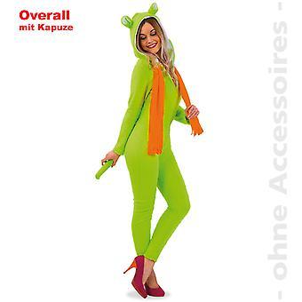 Femmes ours bear combinaison avec ours hotte néon costume costume Lady