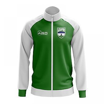 Lesotho konceptet fotboll Track Jacket (grön)
