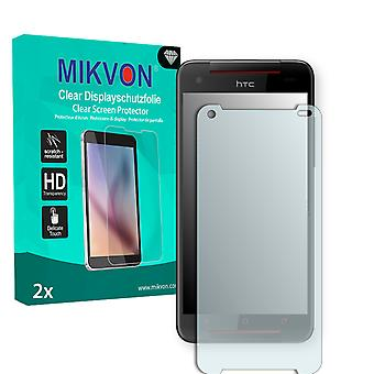 HTC Butterfly S LTE Screen Protector - Mikvon Clear (Retail Package with accessories)