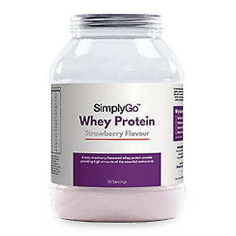 Simplygo/strawberry-whey-protein-powder