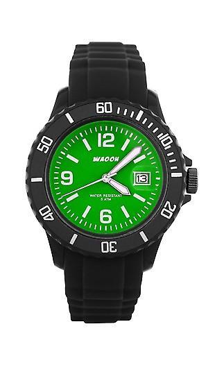 Waooh - Watches - Waooh Monaco Black Ice 34 Color Dial
