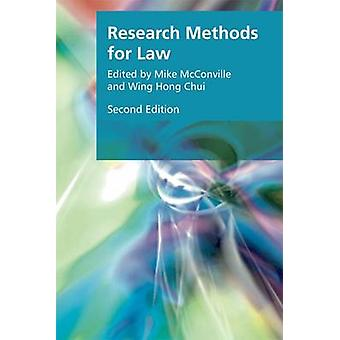 Research Methods for Law by City University of Hong Kong 978147440321