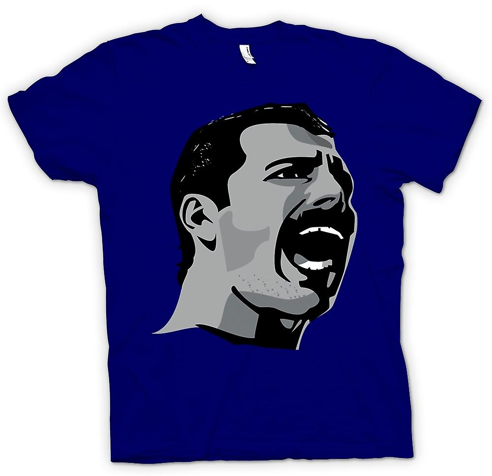 Hommes T-shirt - Freddie Mercury Pop Art Portrait