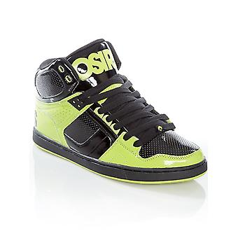 Osiris Lime-Black NYC83 CLK Shoe