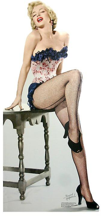 Marilyn Monroe - Net Stockings - Lifesize Cardboard Cutout / Standee