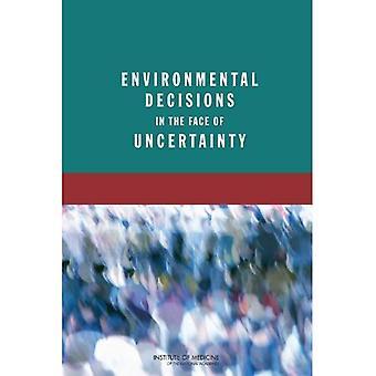 Decisioni ambientali fronte ad incertezza