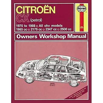 Citroen CX Owners Workshop Manual
